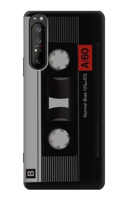 S3516 Vintage Cassette Tape Case For Sony Xperia 1 II