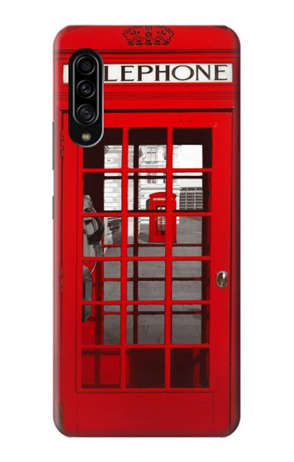 S0058 British Red Telephone Box Case For Samsung Galaxy A90 5G