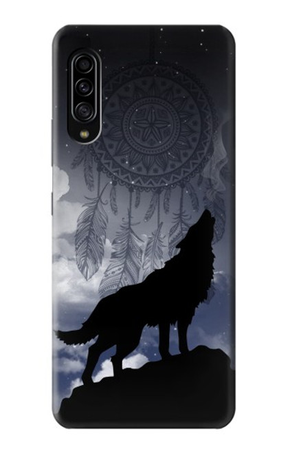 S3011 Dream Catcher Wolf Howling Case For Samsung Galaxy A90 5G