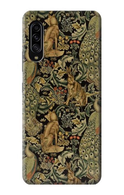 S3661 William Morris Forest Velvet Case For Samsung Galaxy A90 5G