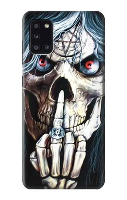 S0222 Skull Pentagram Case For Samsung Galaxy A31