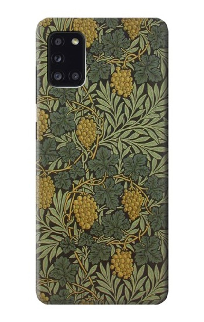 S3662 William Morris Vine Pattern Case For Samsung Galaxy A31