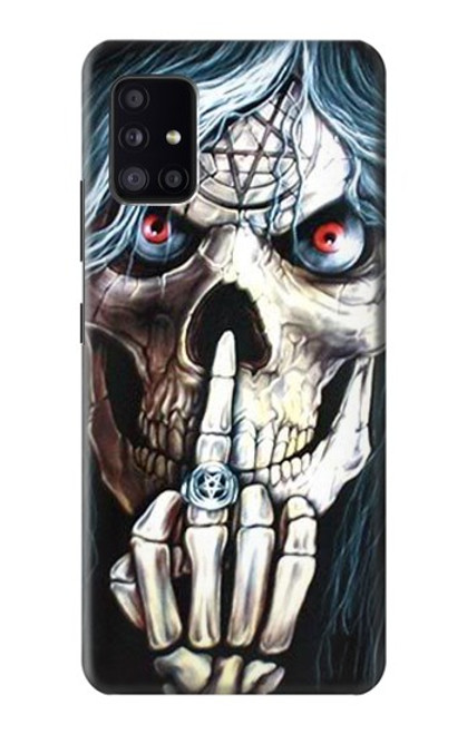 S0222 Skull Pentagram Case For Samsung Galaxy A41