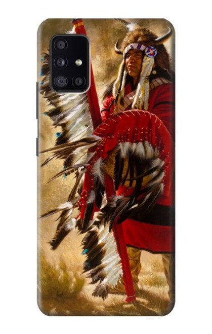 S0817 Red Indian Case For Samsung Galaxy A41