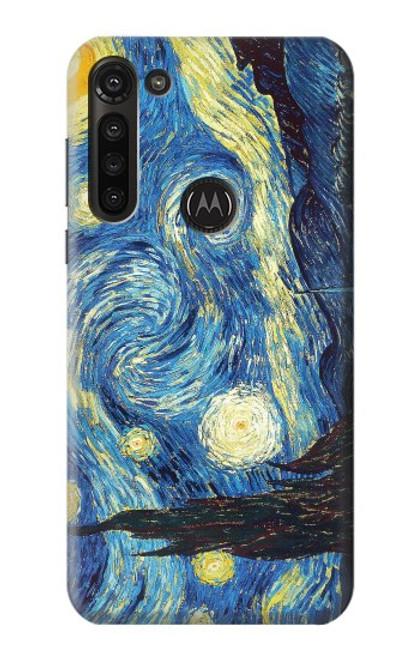 S0213 Van Gogh Starry Nights Case For Motorola Moto G8 Power