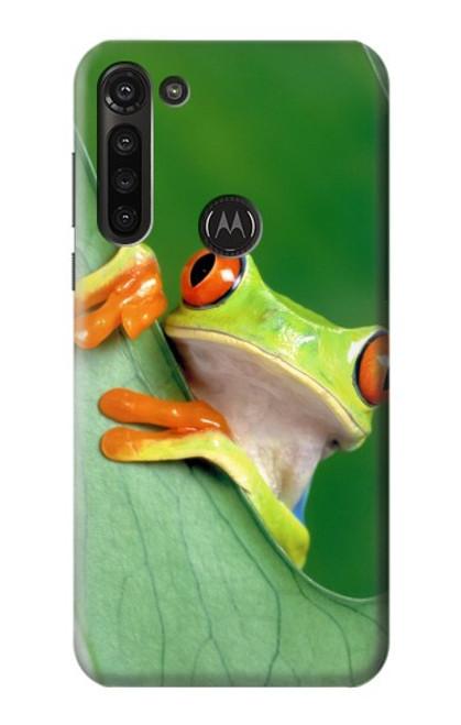 S1047 Little Frog Case For Motorola Moto G8 Power