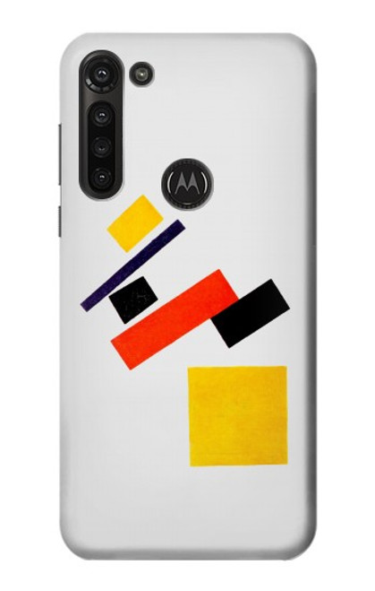 S1958 Malevich Suprematism Case For Motorola Moto G8 Power