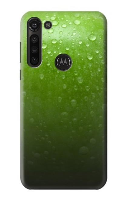 S2475 Green Apple Texture Seamless Case For Motorola Moto G8 Power