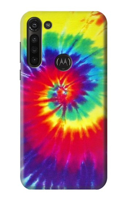 S2884 Tie Dye Swirl Color Case For Motorola Moto G8 Power