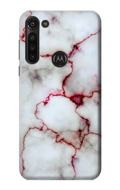 S2920 Bloody Marble Case For Motorola Moto G8 Power