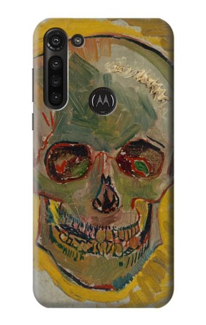 S3359 Vincent Van Gogh Skull Case For Motorola Moto G8 Power
