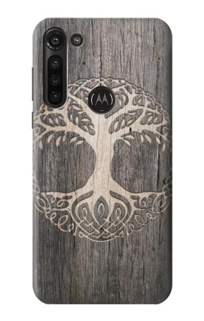 S3591 Viking Tree of Life Symbol Case For Motorola Moto G8 Power