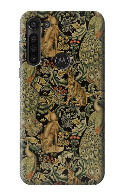 S3661 William Morris Forest Velvet Case For Motorola Moto G8 Power