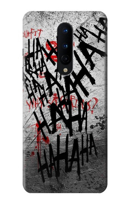 S3073 Joker Hahaha Blood Splash Case For OnePlus 8
