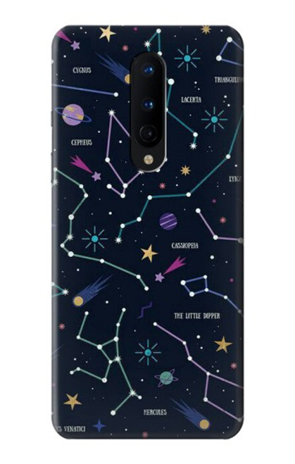 S3220 Star Map Zodiac Constellations Case For OnePlus 8