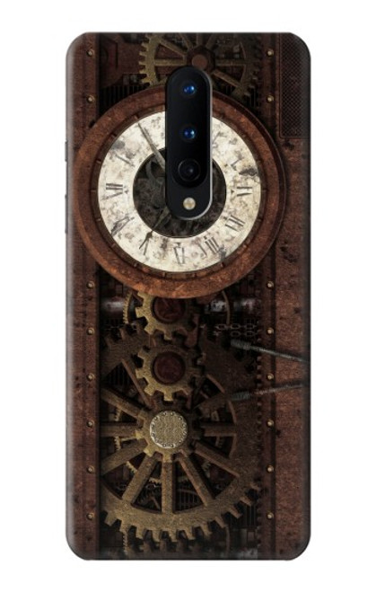 S3221 Steampunk Clock Gears Case For OnePlus 8
