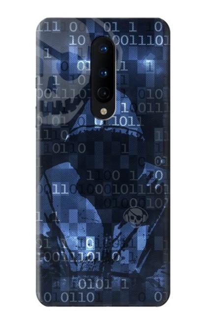 S3431 Digital Code Cyber Hacker Case For OnePlus 8