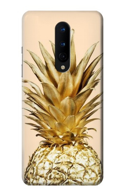 S3490 Gold Pineapple Case For OnePlus 8