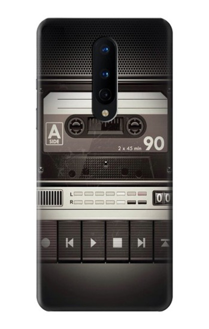 S3501 Vintage Cassette Player Case For OnePlus 8