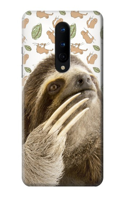 S3559 Sloth Pattern Case For OnePlus 8