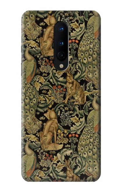 S3661 William Morris Forest Velvet Case For OnePlus 8