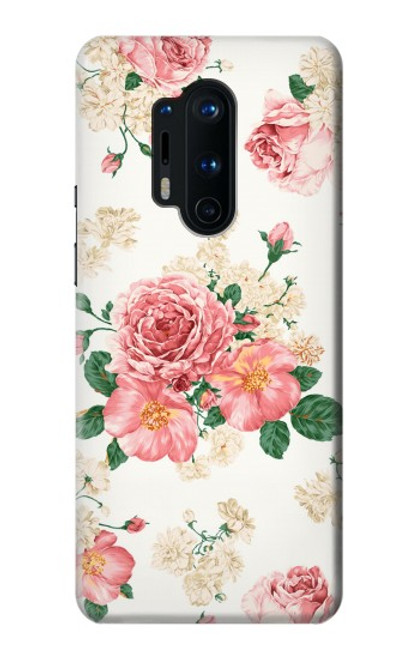 S1859 Rose Pattern Case For OnePlus 8 Pro