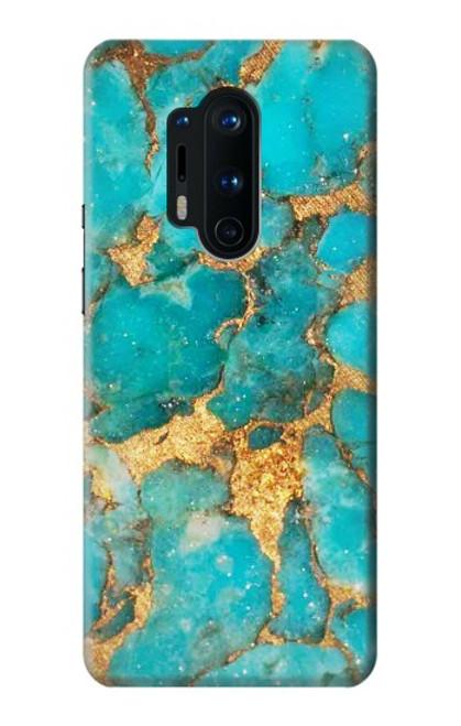 S2906 Aqua Turquoise Stone Case For OnePlus 8 Pro