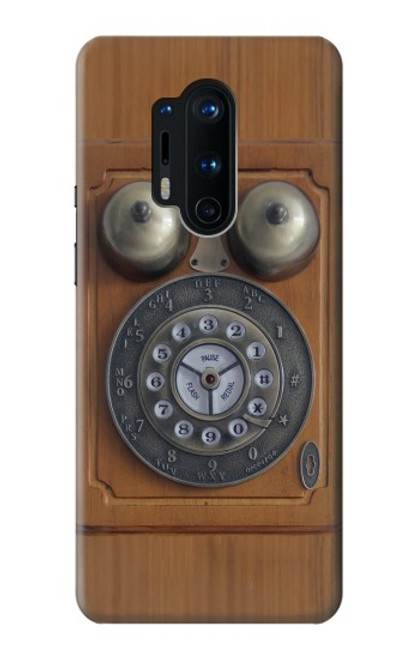 S3146 Antique Wall Retro Dial Phone Case For OnePlus 8 Pro