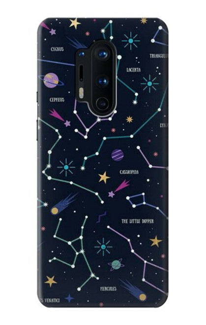 S3220 Star Map Zodiac Constellations Case For OnePlus 8 Pro