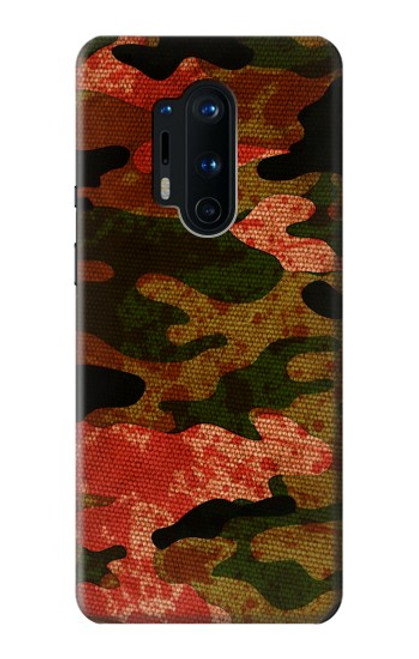 S3393 Camouflage Blood Splatter Case For OnePlus 8 Pro