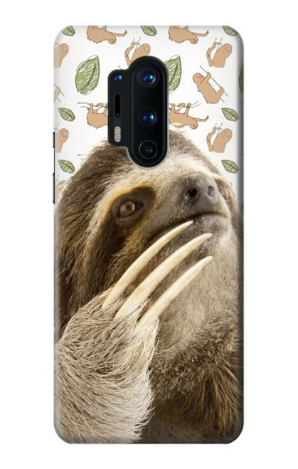 S3559 Sloth Pattern Case For OnePlus 8 Pro
