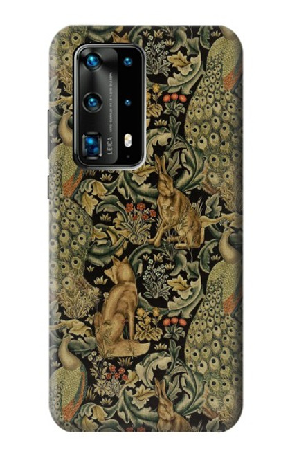 S3661 William Morris Forest Velvet Case For Huawei P40 Pro Plus