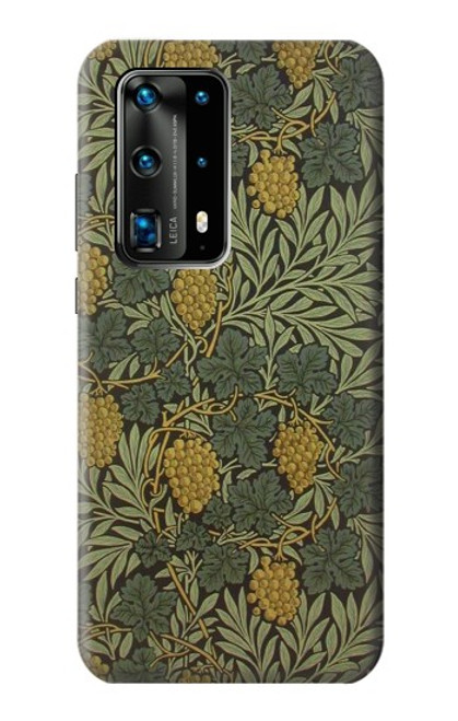 S3662 William Morris Vine Pattern Case For Huawei P40 Pro Plus