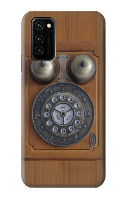 S3146 Antique Wall Retro Dial Phone Case For Honor V30 Pro