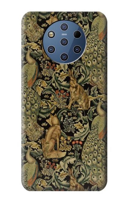 S3661 William Morris Forest Velvet Case For Nokia 9 PureView