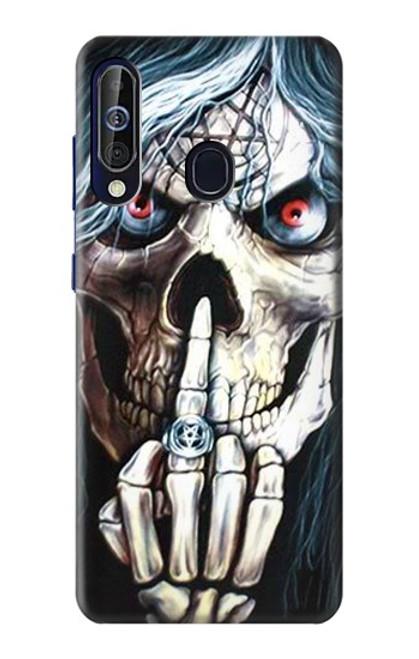 S0222 Skull Pentagram Case For Samsung Galaxy A60