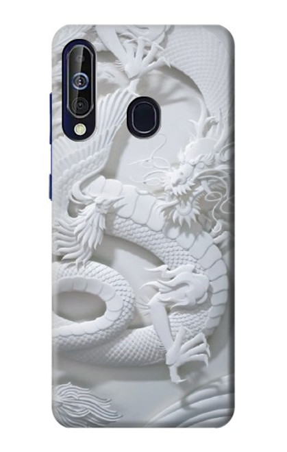 S0386 Dragon Carving Case For Samsung Galaxy A60
