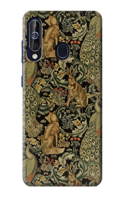S3661 William Morris Forest Velvet Case For Samsung Galaxy A60