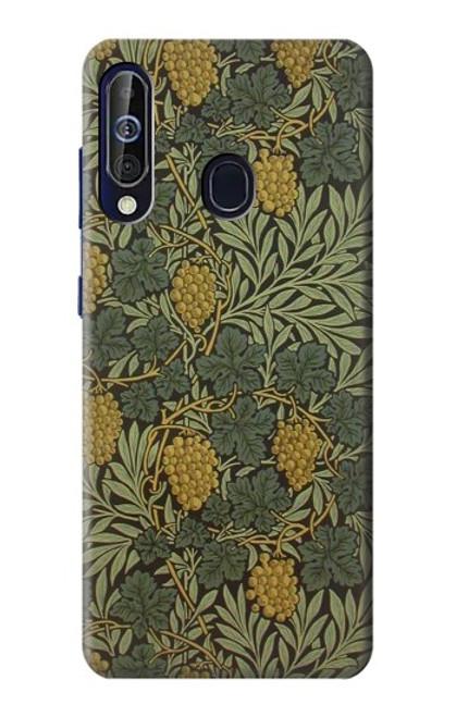 S3662 William Morris Vine Pattern Case For Samsung Galaxy A60