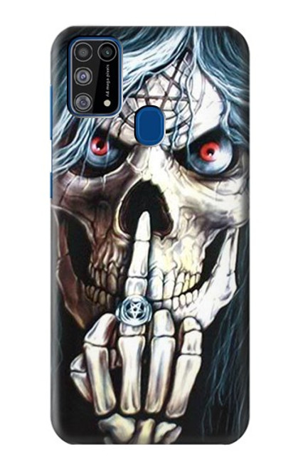 S0222 Skull Pentagram Case For Samsung Galaxy M31