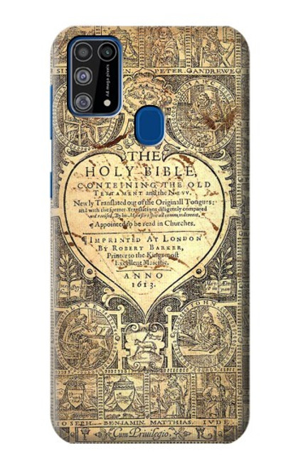 S0330 Bible Page Case For Samsung Galaxy M31
