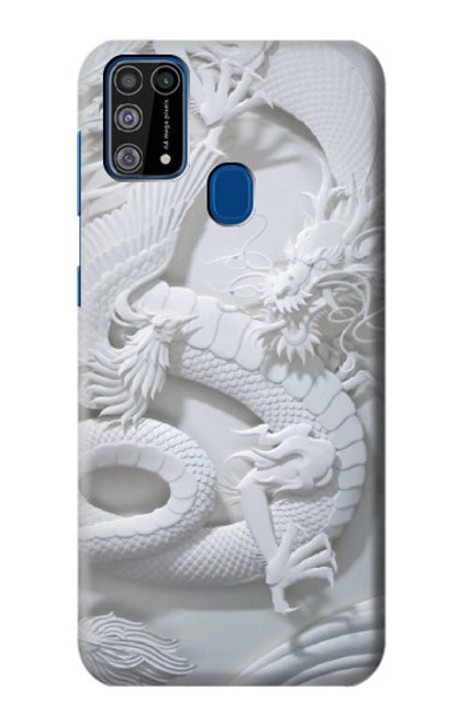 S0386 Dragon Carving Case For Samsung Galaxy M31