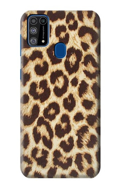 S2204 Leopard Pattern Graphic Printed Case For Samsung Galaxy M31