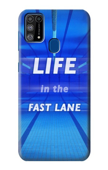 S3136 Life in the Fast Lane Swimming Pool Case For Samsung Galaxy M31