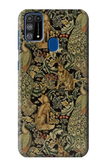 S3661 William Morris Forest Velvet Case For Samsung Galaxy M31