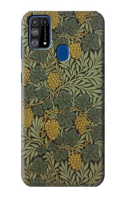 S3662 William Morris Vine Pattern Case For Samsung Galaxy M31