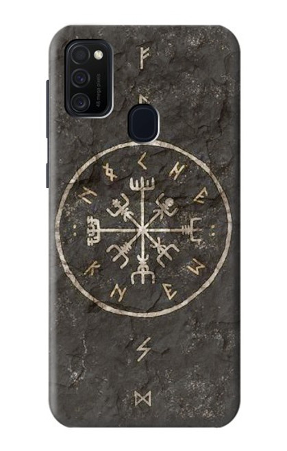 S3413 Norse Ancient Viking Symbol Case For Samsung Galaxy M21