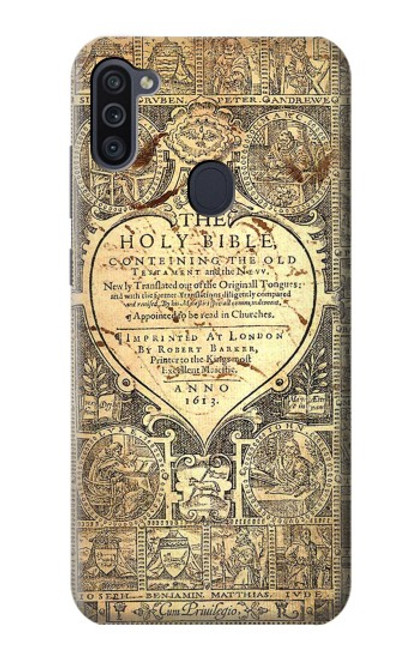 S0330 Bible Page Case For Samsung Galaxy M11
