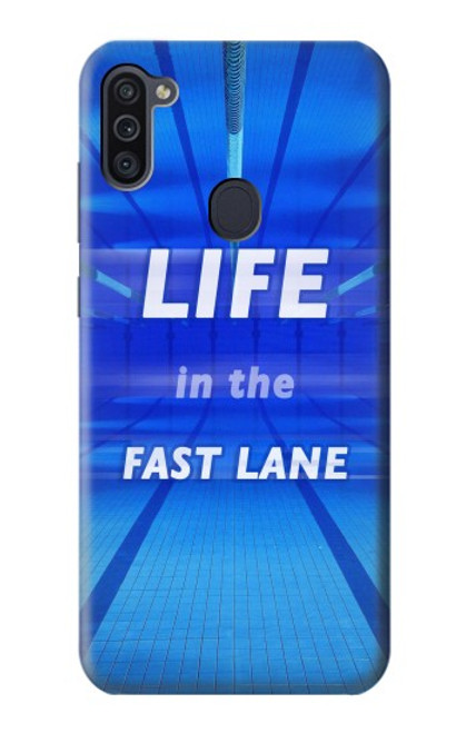 S3136 Life in the Fast Lane Swimming Pool Case For Samsung Galaxy M11