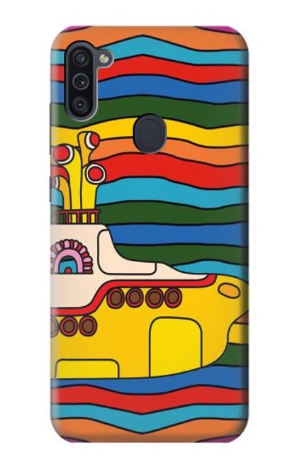 S3599 Hippie Yellow Submarine Case For Samsung Galaxy M11